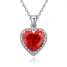 Heart Ocean Love Necklaces & Pendants for Women Fashion statement Charm Jewelry Birthday Best Friends Gifts High Quality 2017