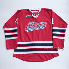 Kowell Oshawa Generals #4 Michael Del Zotto Stitched Hockey Jersey(China)