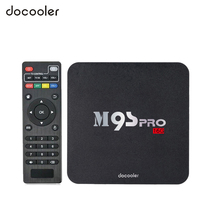 Docooler M9S-PRO Smart TV Box Android 6.0 Amlogic S905X Quad Core XBMC 4K Set top Box 2GB 16GB WiFi H.265 DLNA HD Media Player