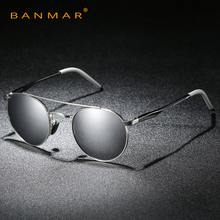 Buy Retro Aluminum Round Sunglasses Men Male Vintage Steampunk Sunglass Women Hip Hop Glasses Luxury Brand Eyewear UV400 A540 for $9.14 in AliExpress store