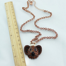 XQ Free shipping 2015 Europe and the United States jewelry trade new koala bear crown retro Necklace