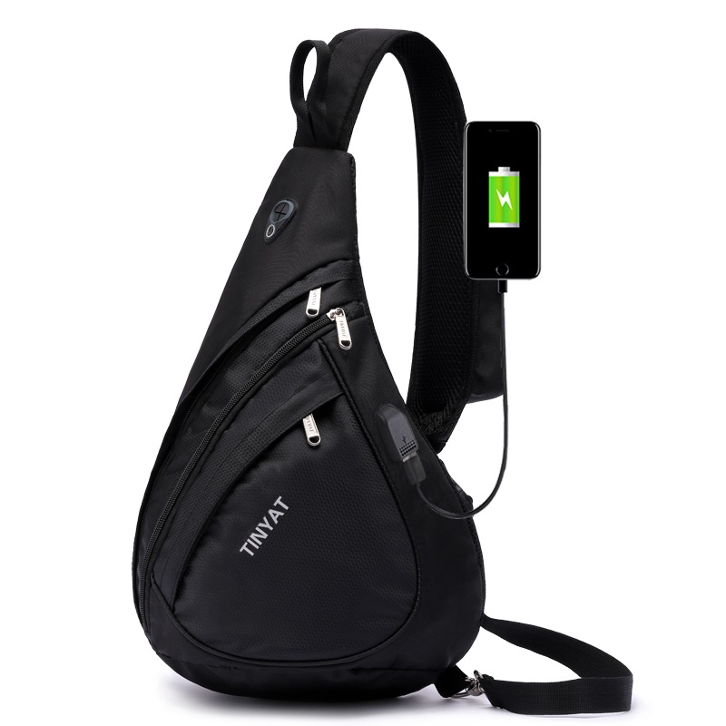 TINYAT-Marque-Hommes-USB-Devrait-Sling-Sac-tanche-Toile-Poitrine-Sac-Pack-Voyage-Scolaire-Sac-Main