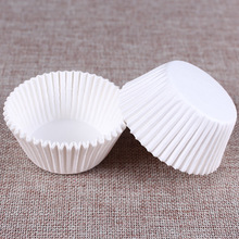 100 pcs Pure white cupcake paper liners Muffin Cases Cup Cake Baking egg tarts tray kitchen accessories Pastry decorating Tools