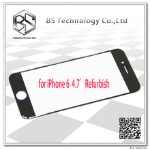 10pcs/lot High Quality OEM Front Glass Digitizer Panel for iPhone 6 6G Refurbish Materials Black/White