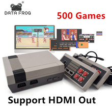 Mini TV Game Console Support HDMI 8 Bit Retro Video Game Console Built-In 500 No Repeat Games Handheld Gaming Player Best Gift(China)