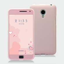Meizu MX4 Pro soft case cover MX4Pro Drop resistance silicone TPU colorful cover With color film 5.5""
