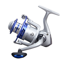 New 12BB Ball Bearing 5.5:1 Speed Ratio Metal Fishing Reel Spinning Wheel Tackle Kit ALS88