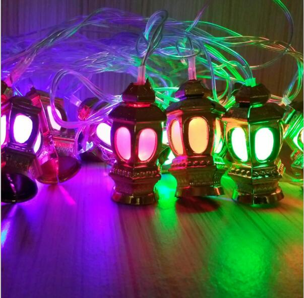 Christmas Decorations Fancy Lights 0 LED Palace Lantern New Year Holiday String AC220V 4M With