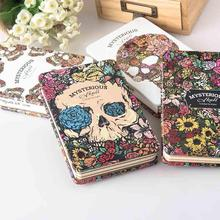 New Diary notebook SketchBook Drawing Devil and angel Sketch Book iron cover Hardcocver 128 sheets Office School Supplies Gift(China)