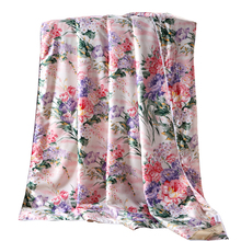 custom-made Tencel Duvet cover Floral print Comforter case twin full double queen king size Quilt outside cover