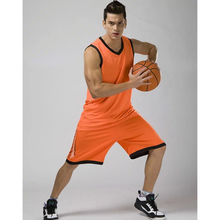 New breathable men's college basketball jerseys sets blank sports jerseys uniforms basketball tracksuit custome training jerseys