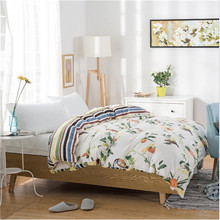 100% cotton design quilt cover/comfortable adult quilt cover/high-quality 1pcs quilt cover(China)