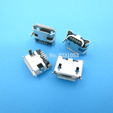 20PCS/LOT Micro USB 5P,5-pin DIP Micro USB Jack,5Pins Micro USB Connector Tail Charging socket