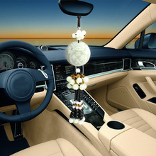 Vehicle Gift Natural jade Noble Luxury Pi Xiu Car pendant ornaments peace symbol pendant inside car amulet Safe journey Boutique(China)
