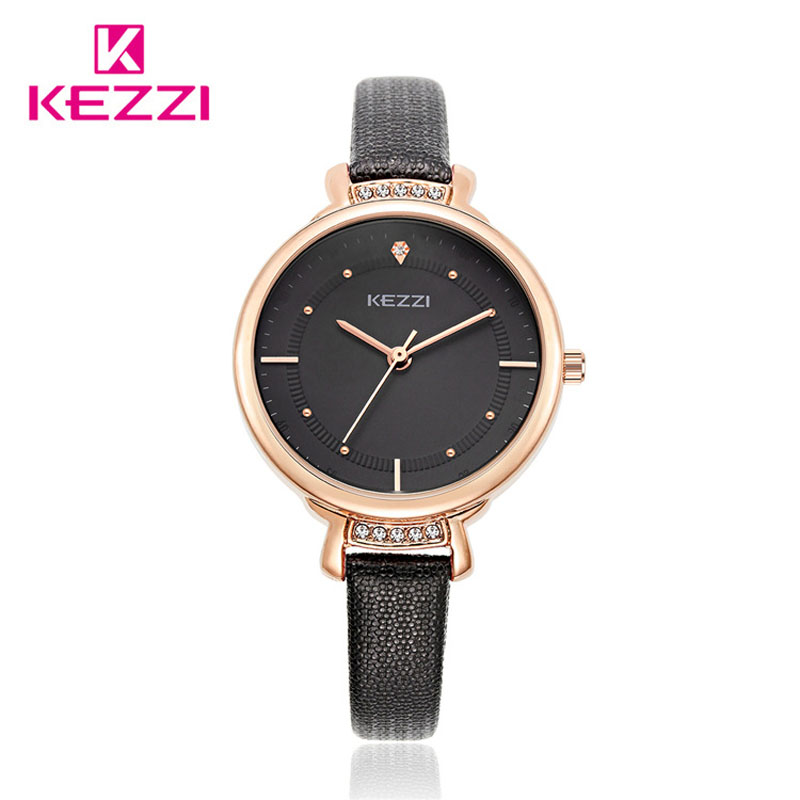 KEZZI Relogio Feminino New Women Luxury Brand Fashion Watch Leather Strap Ladies Quartz Wrist watches Clock Female Montre Femme<br><br>Aliexpress