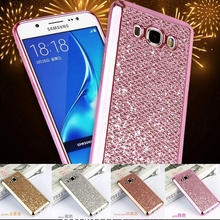 Fashion Bling Back Soft Cover Case For Samsung Galaxy J1 J3 J5 J7 Prime 2016 S5 A3 A5 2017 S6 S7 Edge G530 Phone Protector Coque