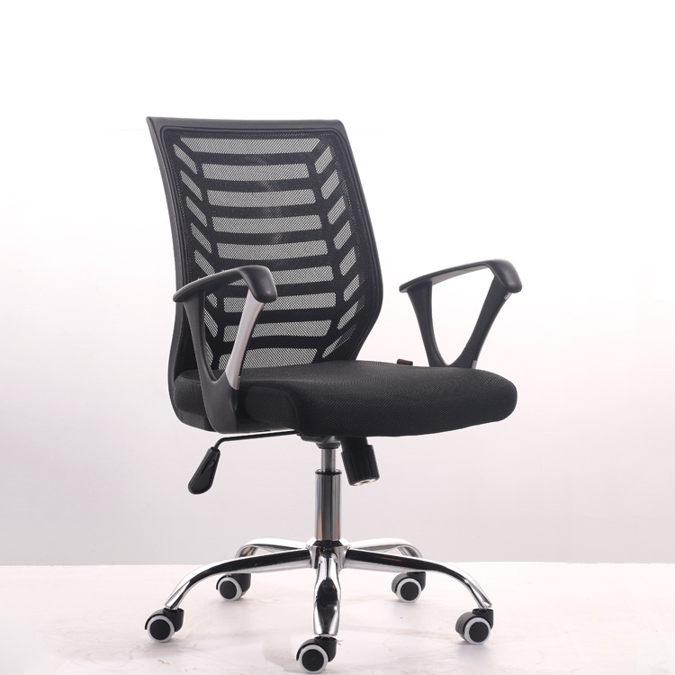Simple Modern Office Chair Lifting Swivel Staff Chair Home Leisure Computer Gaming Chair Breathable Mesh Cloth Meeting Chair(China (Mainland))