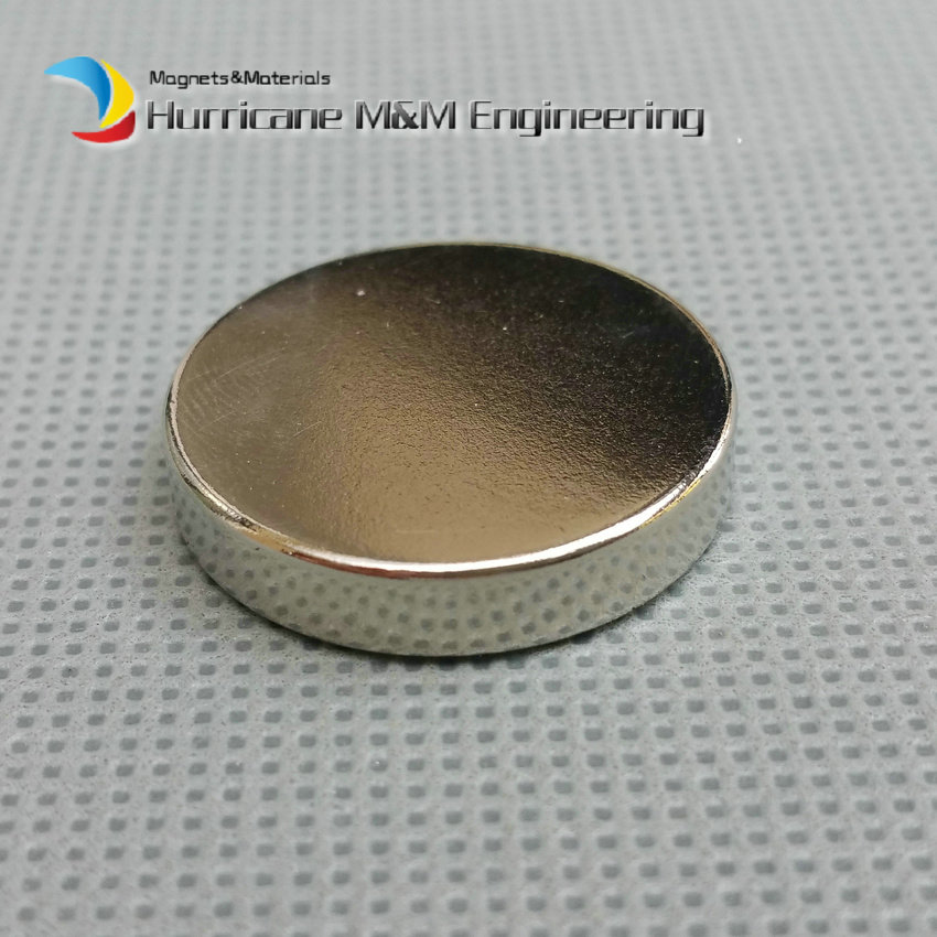 1 pack N52 NdFeB Magnet Disc Dia 25x5 mm 0.98 Super Strong Magnet Neodymium Magnets Permanent Rare Earth Magnets NiCuNi<br>