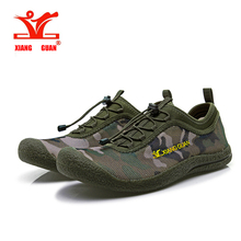 Xiang guan 2017 Summer mens Running Shoes Camouflage Breathable Walking Shoes Man Lazy Shoe Cheap Online Sale EUR size 39-44(China)