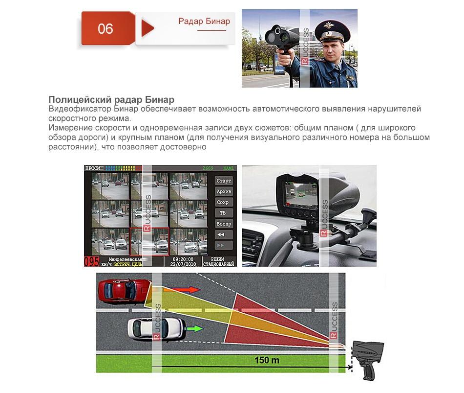 Ruccess Anti Radar Detector with GPS Speed Camera Detector Hidden Design 360 Degree X Ka L CT 2 in 1 Car Detector for Russia1 (8)