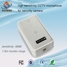 SIZHENG high sensitivity -38dB security camera microphone window counter CCTV sound monitor audio pickups