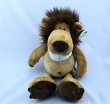 20 pieces a lot cute stuffed lion toys small toy the jungle lion doll birthday gift about 25cm