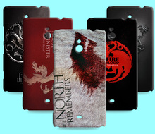Ice and Fire Cover Relief Shell For Nokia Lumia 1320 Cool Game of Thrones Phone Cases For Nokia Lumia 1520