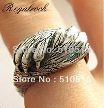 Regalrock Cute I Promise You My Heart Jewelry Promise Cat Claw Talon Ring(China)