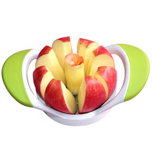 8 Stainless Steel Blades Apple Slicer Corer Cutter Fruit Vegetable Tools Kitchen Accessories(China)