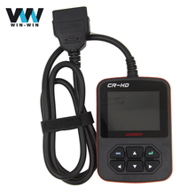 Launch X431 CR-HD Heavy-Duty Code Reader Scanner Launch X431 CRHD Truck Diagnostic Tool Multi-languages