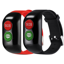 Old Man GPS WIFI LBS Positioning Smart Band Device Elder Blood heart rate monitoring Tracker Position Smartband