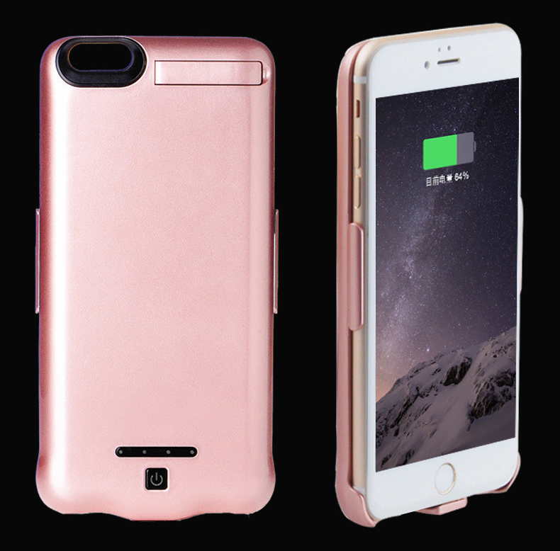 Charger case 10000mAh for iPhone 6 6S 6plus 6Splus 7 7plus Portable Ultra Thin Backshell wireless