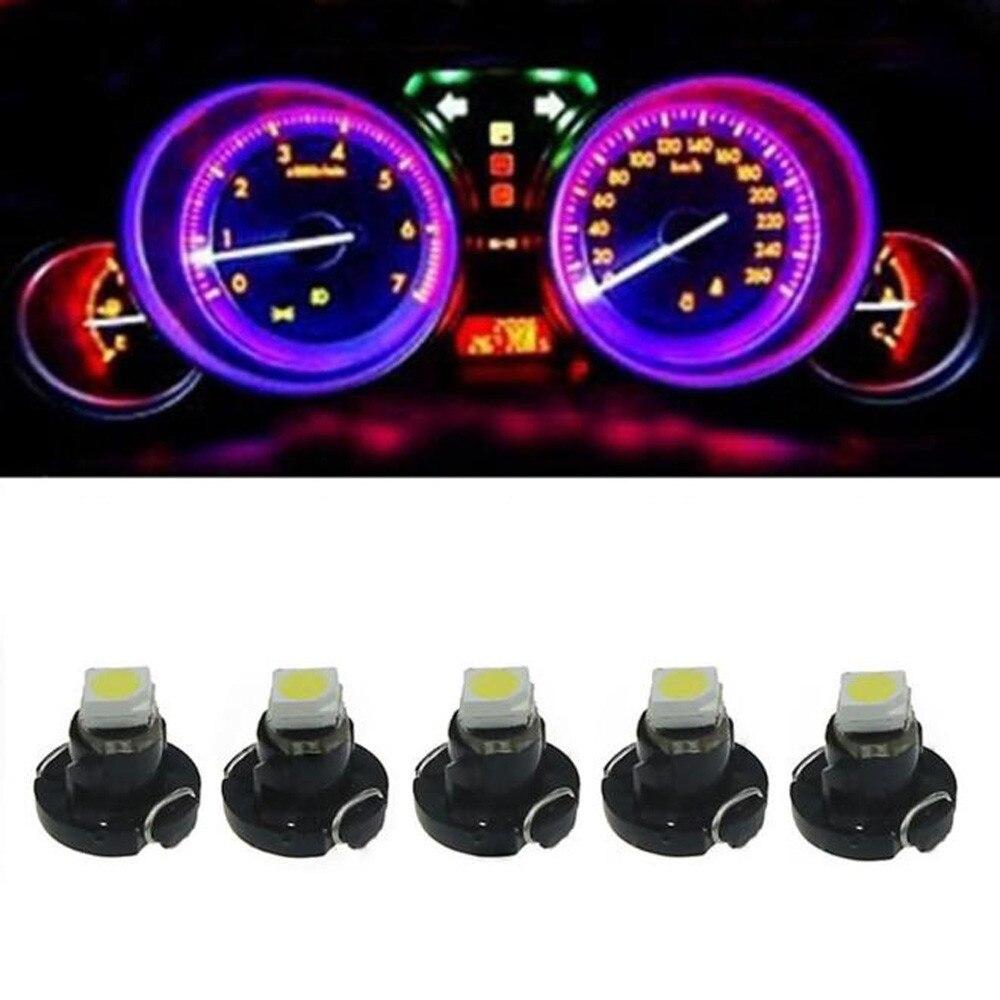 5PCS Univeral Car Twist-Lock Style T3 SMD Dashboard Instrument Cluster Light Car Panel Gauge Car Light <br><br>Aliexpress