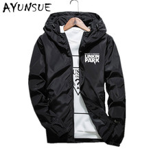 New Hooded Mens Jackets And Coats Black Thin Casual Men's Jackets Autumn Spring Men Coat Blouson Homme Plus Size 6XL 7XL FYY291