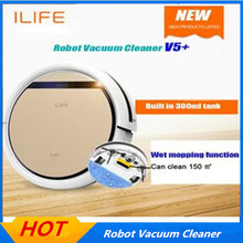 Robot Vacuum Cleaner V5S pro Wet and Dry Clean MOP Water Tank HEPA Filter,Ciff Sensor,Self Charge V5 PRO ROBOT ASPIRADOR(China)