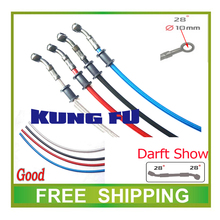 1300mm 1400mm 1500mm 1600mm atv quad 250cc dirt pit bike motorcycle brake oil hose pipe hydraulic brake line shineray cbr yzf(China)