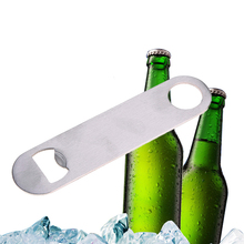 Practical New Unique Stainless Steel Large Flat Speed Bottle Cap Opener Remover Bar Blade  #71569