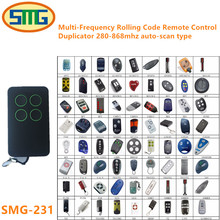 5pcs discount price, inexpensive nice smilo nice BFT FAAC BENINCA SOMMER Garage door gate Remote Control Clone free shipping(China)