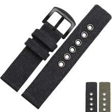 NESUN NL24 Free Shipping 20 mm/ 22 mm Personalized For Men's Nylon Watch Band