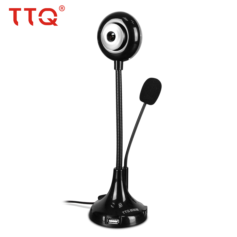 USB 2.0 Bendable Webcam Adjustable Angle CMOS HD Lens Webcam Camera 360 Degree MIC Clip-on for Skype Desktop Computer Laptop(China (Mainland))