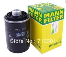 Hot sales, free shipping fee MANN oil filter W719/45 germany