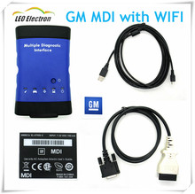 Top Selling! Newest GM MDI with wireless wifi GM MDI opel card auto diagnostic tool Multiple Diagnostic Interface OBD2 Scanner(China)