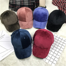 2017 snapback fashion solid light corduroy wild baseball cap men and women summer curved eaves couple adjustable cap casquette
