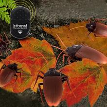5 Infrared Ants / Cockroaches / Spiders Remote Control Mock Fake RC Toy Animal Xmas Trick Terrifying Toy