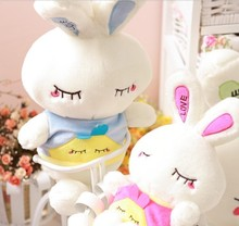 Super!  wholesale 85 cm doll plush toy rabbit LOVE bugs bunny doll birthday present large Christmas gift free shipping