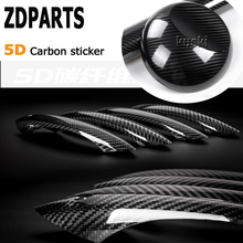 Buy ZDPARTS 200*1520mm Car Styling 5D Carbon Fiber Vinyl Stickers Audi A3 A4 B7 B8 B6 A6 C6 C5 Q5 Citroen C4 C5 Volvo V70 Xc60 for $6.99 in AliExpress store