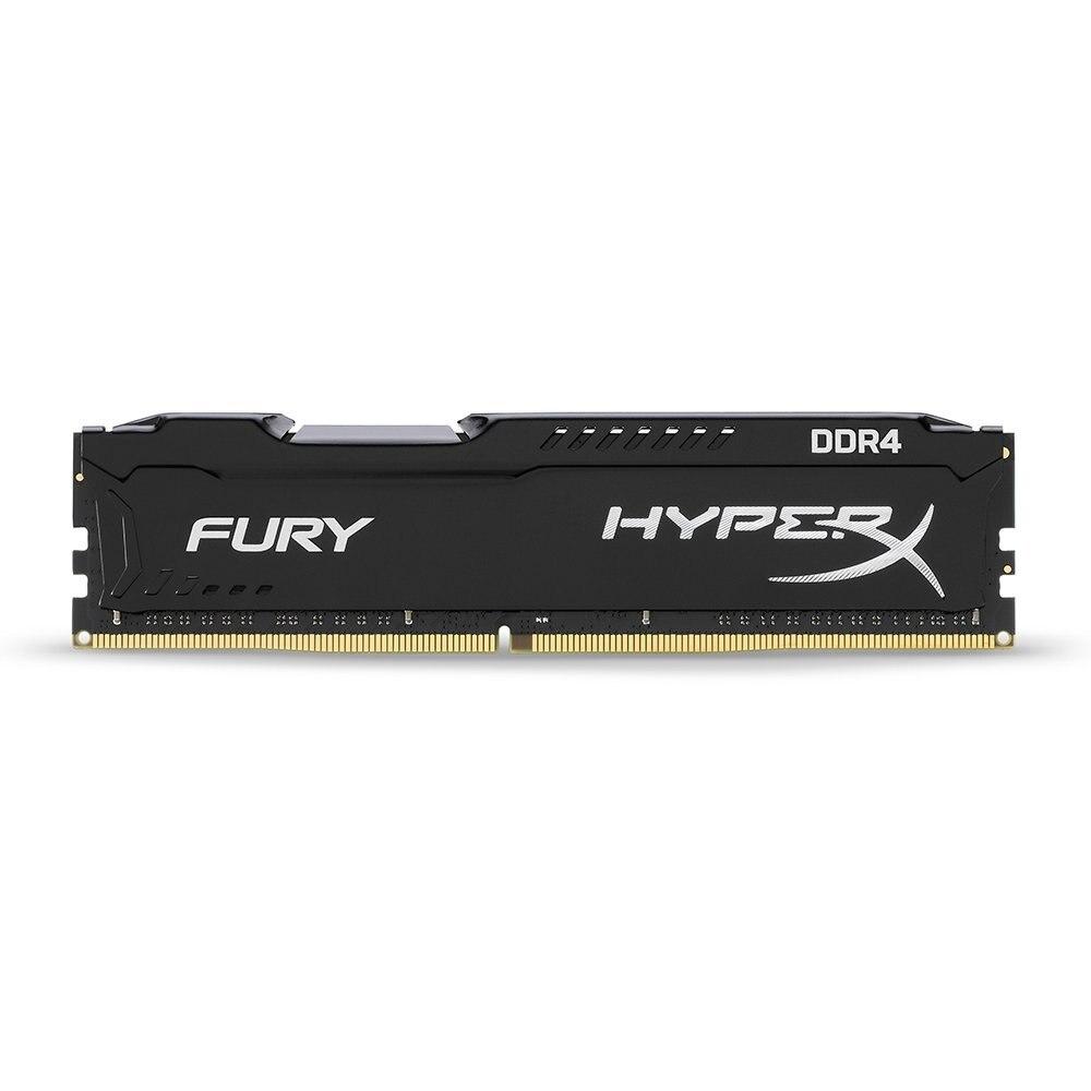 Kingston HyperX FURY Black Memoria Ram ddr4 8GB 2666MHz DDR4 Non-ECC CL16 HX426C16FB DIMM Desktop Memory Gaming Rams for Dota 2 (3)
