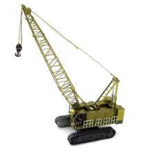 Colorful Crawler Crane Car Styling Fun 3d Metal Diy Miniature Model Kits Puzzle Toys Children Boy Splicing Hobby Building(China)