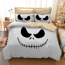 DeMissir Nightmare Before Christmas USA Size Twin Full Queen King Polyester Bedding Set Duvet Cover 2/3pcs set Digital Printing