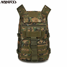 40L 800D Oxford Tactical Army Military Assault Rucksack Outdoor Sports Camo Bag Backpack Hiking Climbing Travel Back Pack